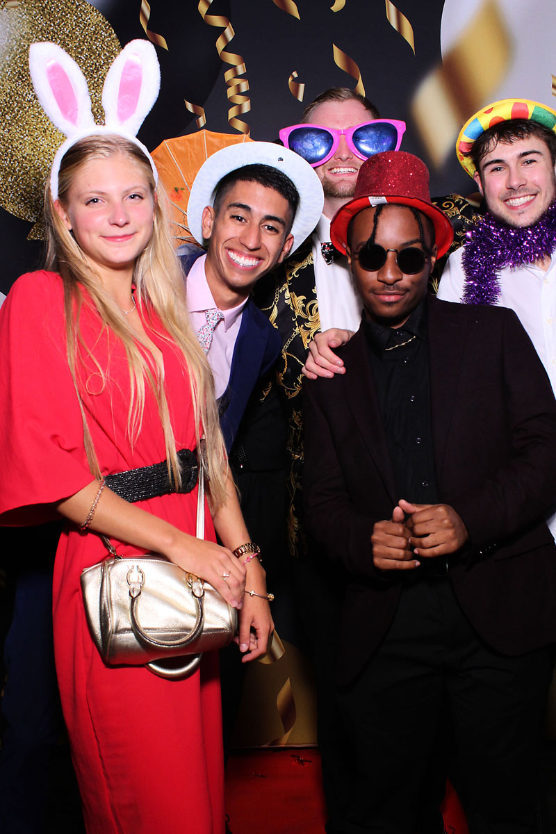 Cool Students using our Party Photo Booth
